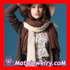Mori Girl Fashion Plain Hollow Knitted Shawls Stoles And Scarves For Women
