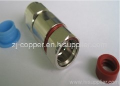 N male clamp connector for 1/2
