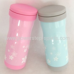 350ml stainless steel flowers fashion vacuum flask