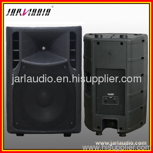 8inch 2 way Plastic speaker cabinet with MP3+LCD+SD+Bluetooth