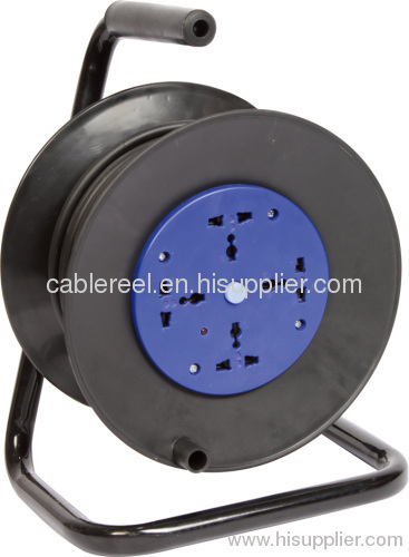 250V 16A Plastic Cable reel with Multi-function socket& switch