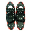 Black and red border anti-slip snow shoes