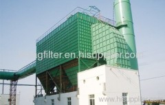 High pressure dust collector