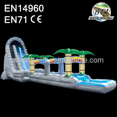 Roaring rapids dual lane waterslide