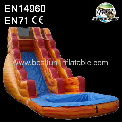 11mL*4mW*6.1mH Sunset splash waterslide