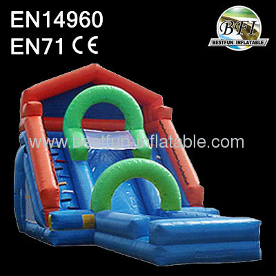 The thriller water slide with option pool