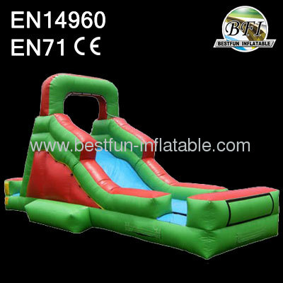 Elite backyard slide inflatable
