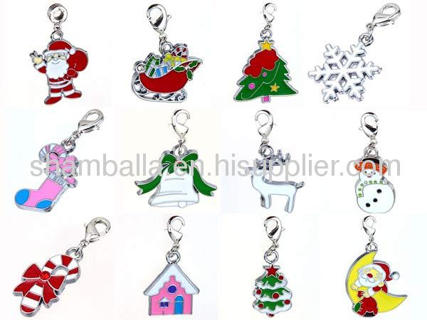 european Christmas Snowflakes Charm Wholesale