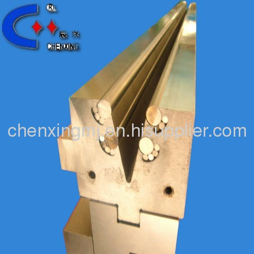 SINGLE V NO IMPRESSION ROLLER PRESS BRAKE TOOLS DIES