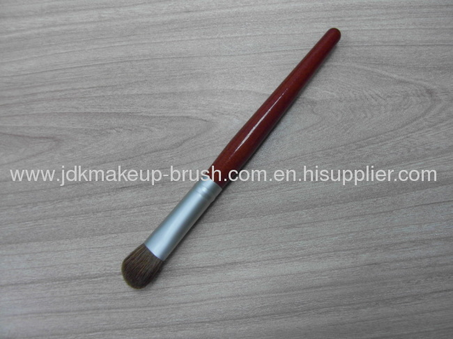 Sable Hair Eyeshadow Brush with red wooden handle