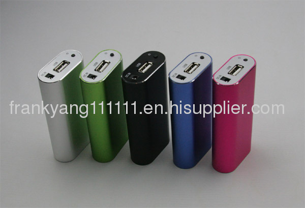 5200mAH Portable Power Bank,External Battery for Mobile Phone, Charger for 5V Console