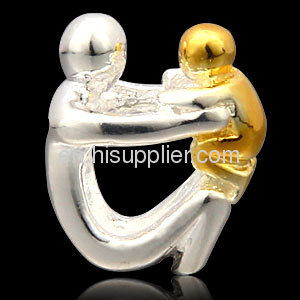 Fashion Design 925 Sterling Silver Father european Bead