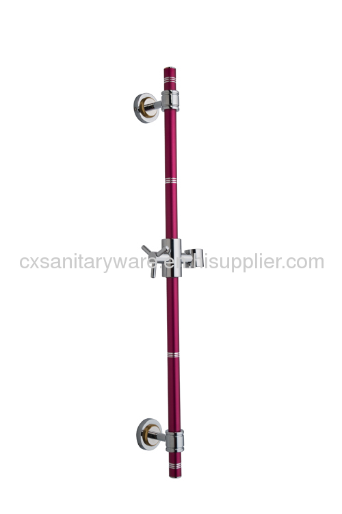 colorful Aluminum shower set shower slider bar