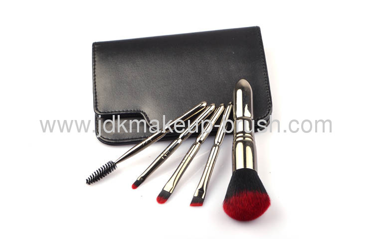 Top grade Duo Color Animal hair Cosmetic brush kit OEM