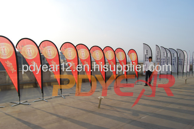 outdoor advertising flying banner