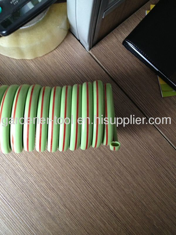 EVA/PU Coil Garden Water Hose With 2 Color