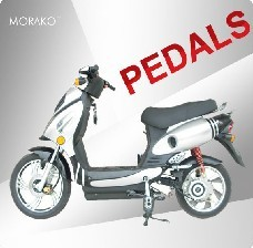48V 500w 32km/h Strong Climb Ability/ very Powerful Electric scooter with pedals--LS3-2