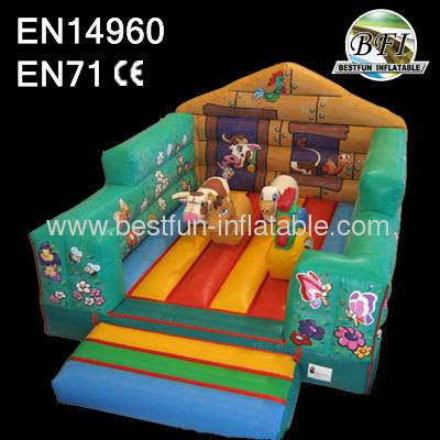Children's Newest 6m Inflatable Farm Bouncer