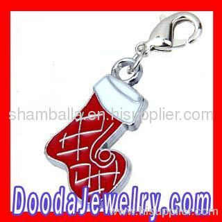 european Christmas Stockings Charm Wholesale