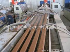 pvc pp pe wood-plastic profile machine