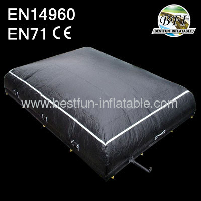 Black Inflatable Jump Air Bag