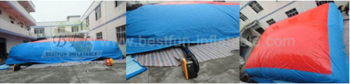 Inflatable Big Air Bag For Skiing