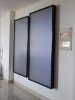 Flat Panel Solar Collector with Blue Titanium