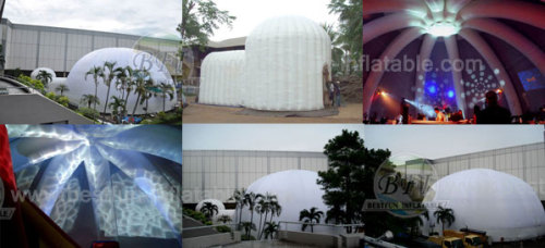 Big Super Inflatable Party Dome Tent For Dancing