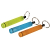 Cylindrical type mini colorfull flashlight with keyring