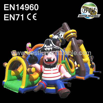 Inflatable Pirate Obstacle Course