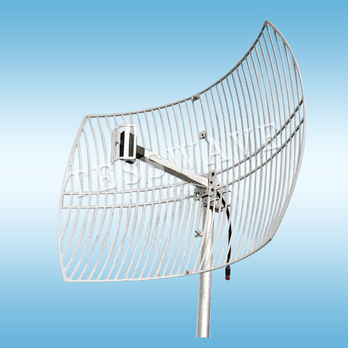 2.4GHz 24dbi high gain long range parabolic grid wifi antenna