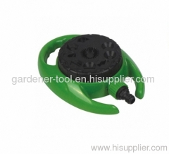 Plastic 9-way Garden Water Hose Sprinkler