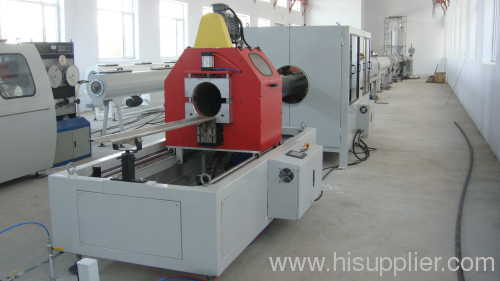 PE-HD drainage pipe production line