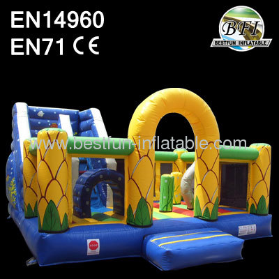 Kids Marine Inflatable Slide