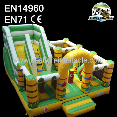 6mL*5mW*4mH Inflatable Slide Totem