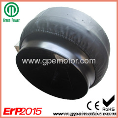 exhaust ventilation systems 230V AC 12 inch Circular Inline Duct Fan CK315