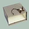 250G Ivory / white board paper bag for shopping matte lamination