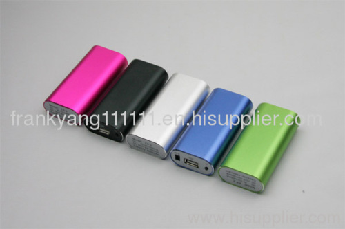 5200mAH Portable Power Bank, External Battery for Mobile Phone, Charger for 5V Console