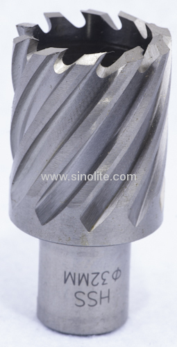 Annular Hole Cutter with weldon shank, one-touch, quick-in, thread shank diameter:12-50mm, depth:25,50,75mm