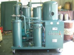 High Vacuum Lubricating Oil Purifier Lubricant Oil Filtration System