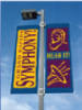 City street banner or pole banner