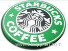 Heat Resistant Durable Silicone Coasters, Personalized Coffee Coaster With Customized Logo
