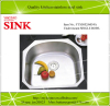 Undermount kitchen single bowl sink stainless steel