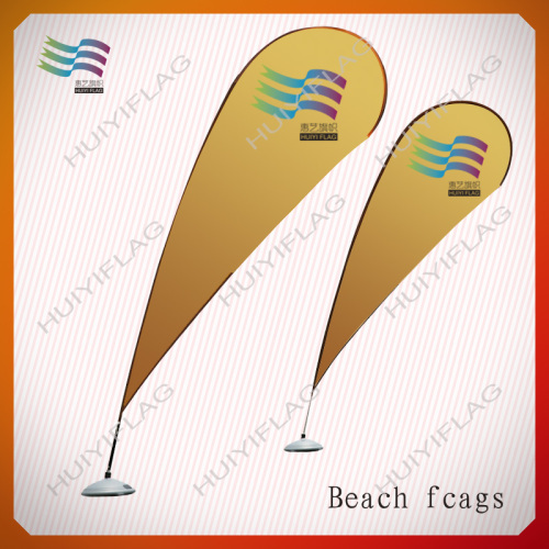 beach feather flags with base