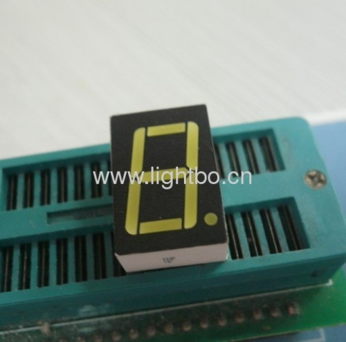 Single digit 0.56 inch common anode white 7 segment led display