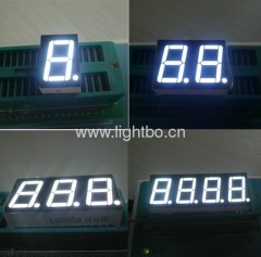 0.56 inch white 7 segment led display