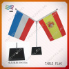 international table desk flag with stand