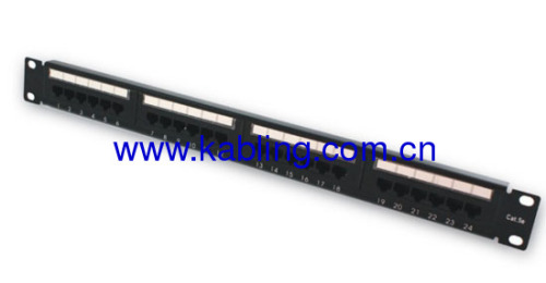 Cat5e Unshield Patch panel