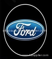 led car logo light projector light for ford