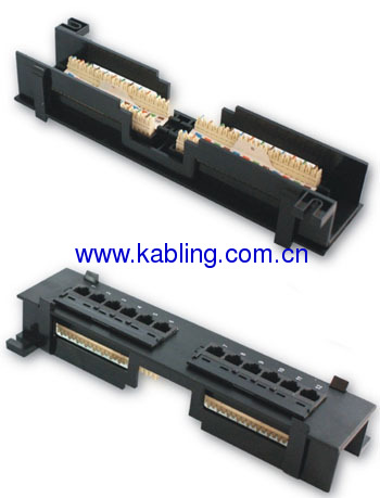 Cat5e 12 Port Patch Panel